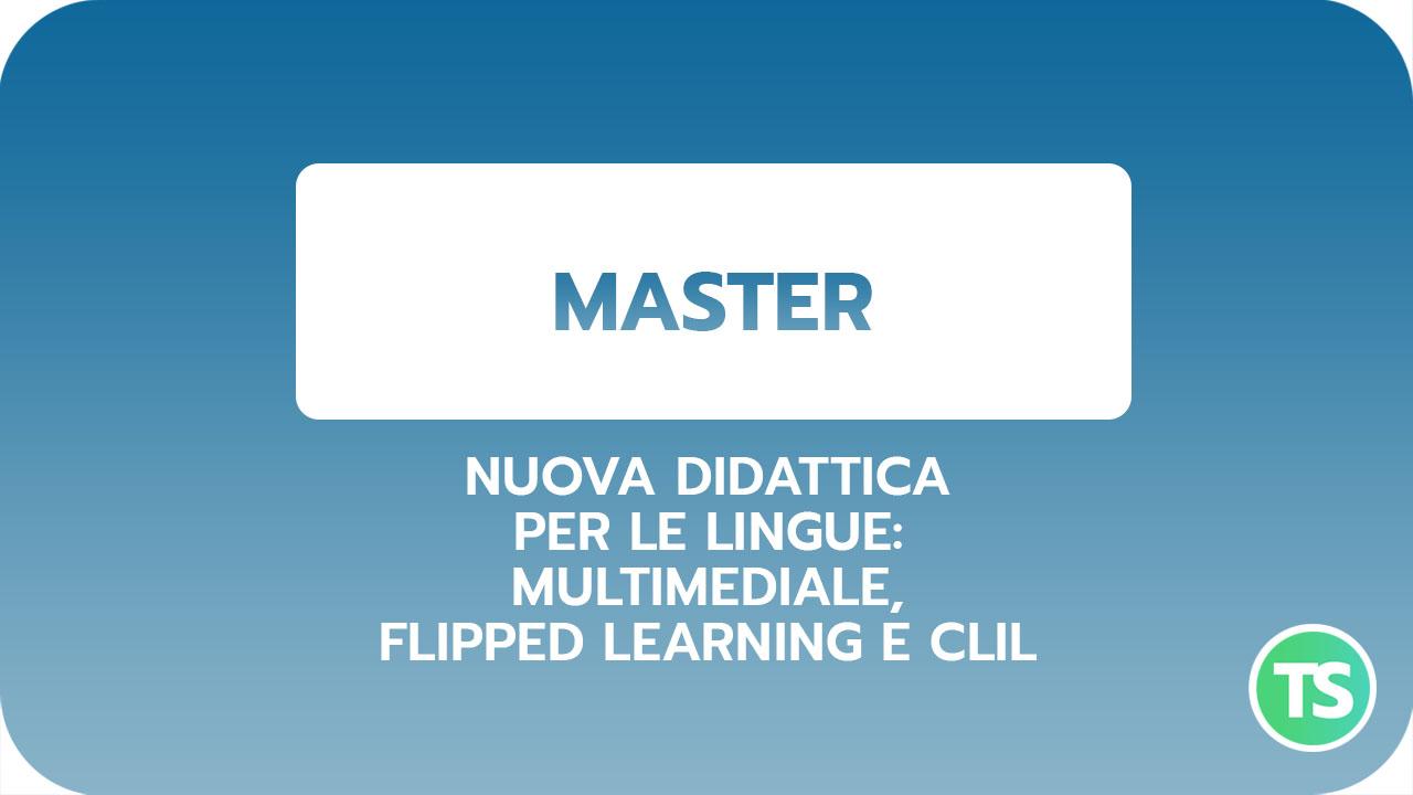 Master-nuova didattica lingue