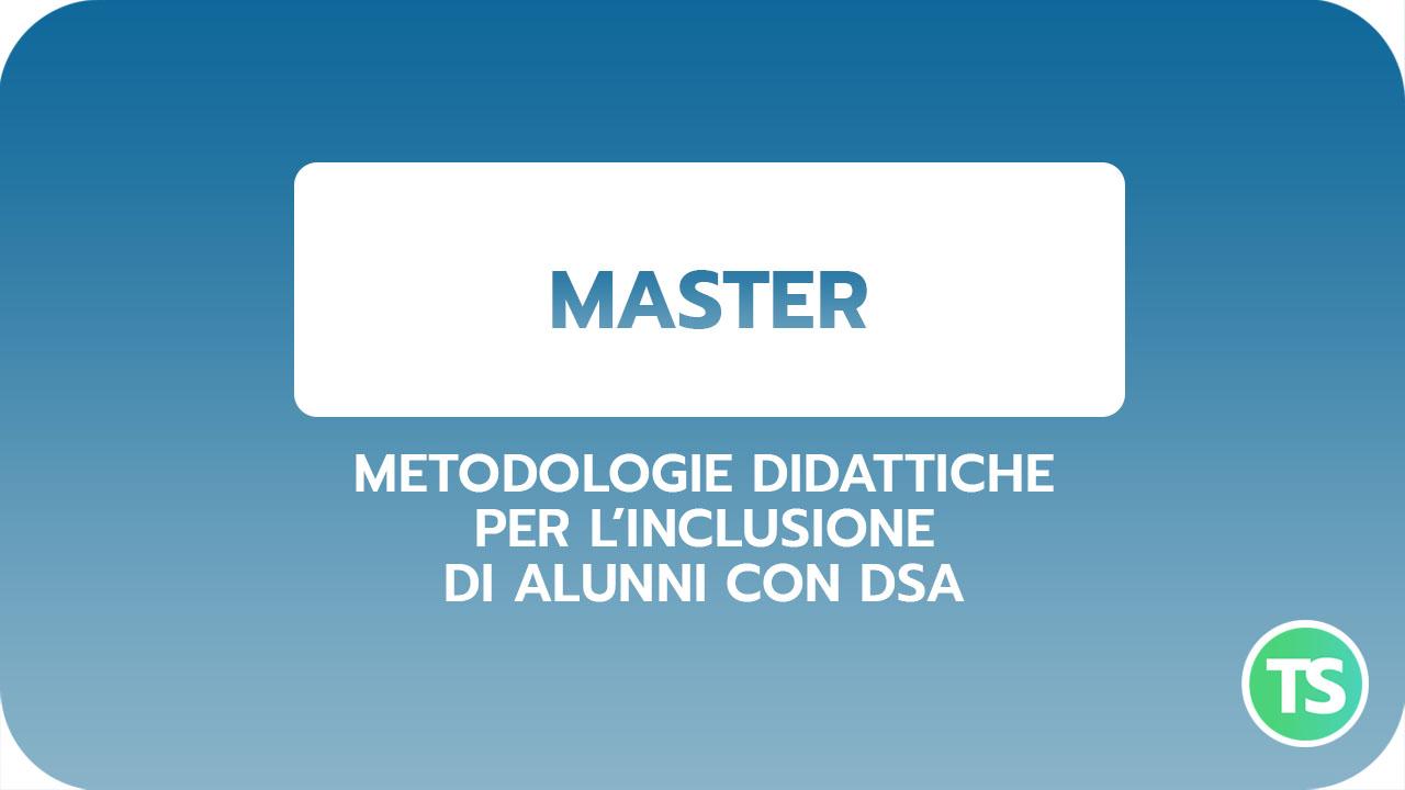 Master-METODOLOGIE ALUNNI DSA