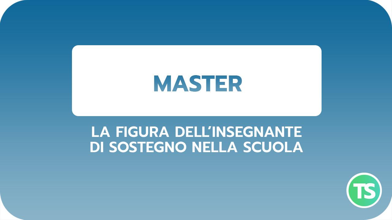 Master-sostegno